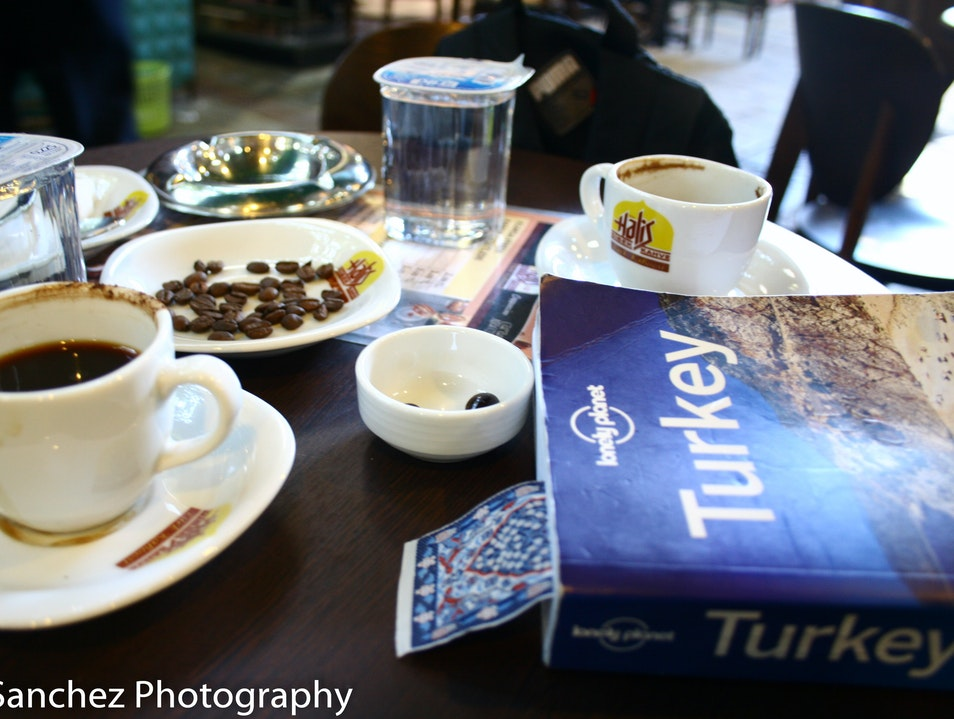 please have a coffee Izmir  Turkey