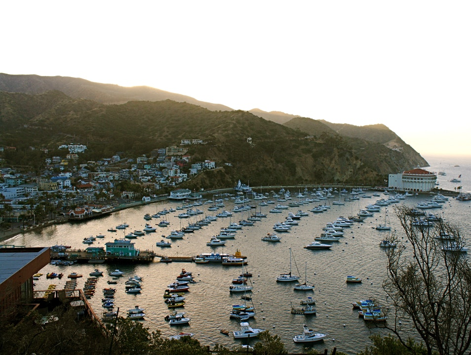 Sunset on Catalina  Avalon California United States