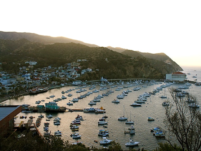 Sunset on Catalina