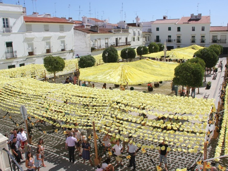 Flower festival in Campo Maior