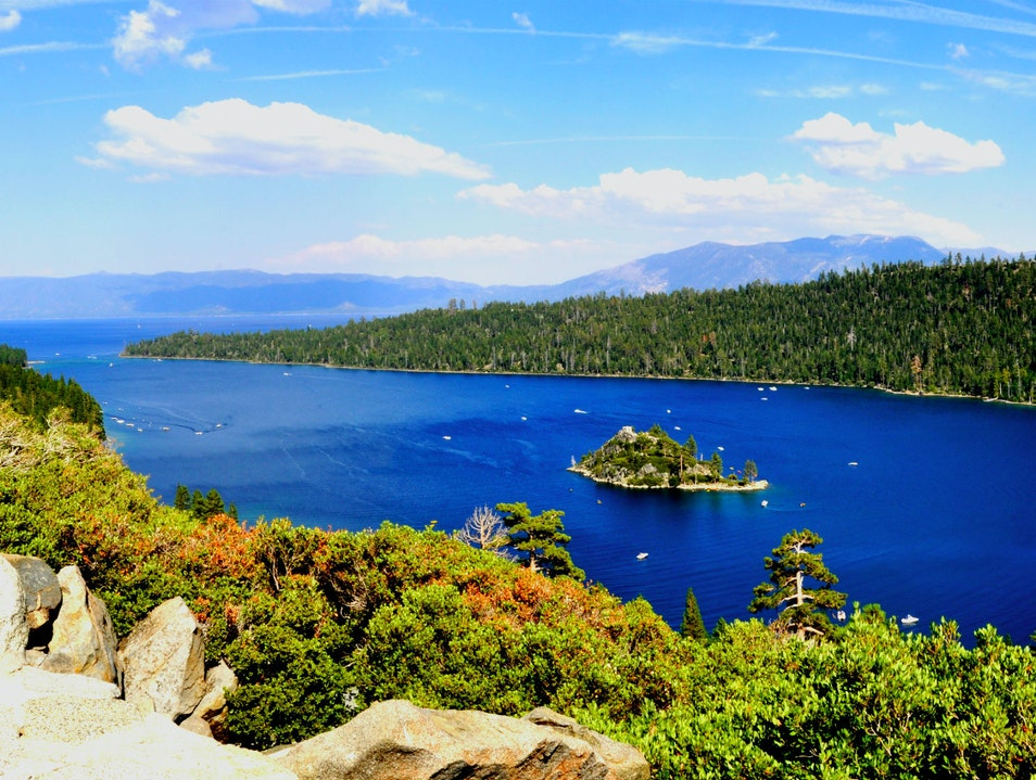 A Granite, Spruce-Clad Island Gem  Lake Tahoe California United States