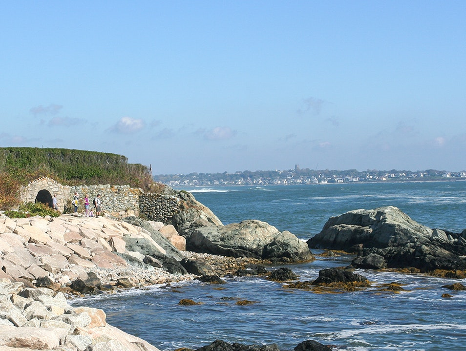 Cliff Walk Newport Rhode Island United States