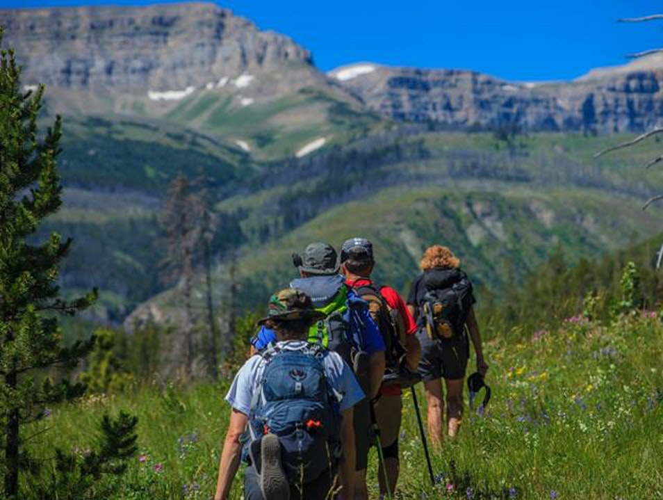 Hike the Bob Marshall Wilderness  Choteau Montana United States