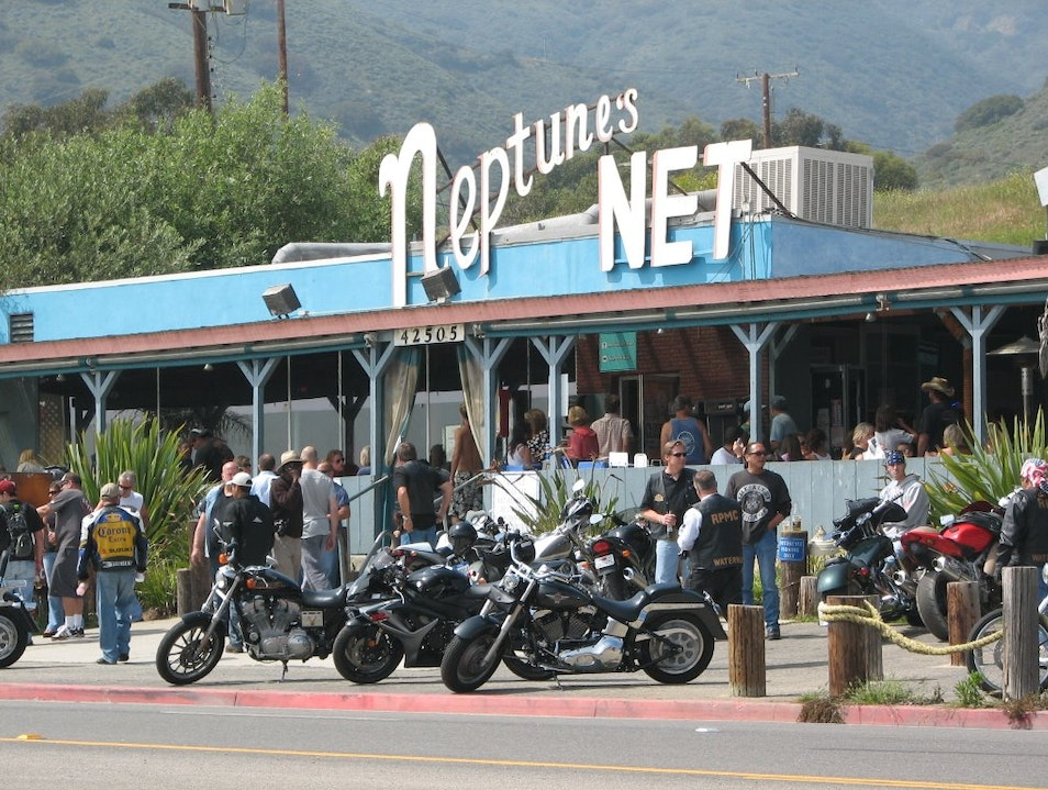 Neptune's Net makes Point Break Feel Close Enough to Touch Malibu California United States