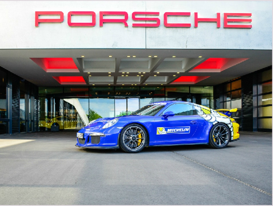 Experience the power of a GT3