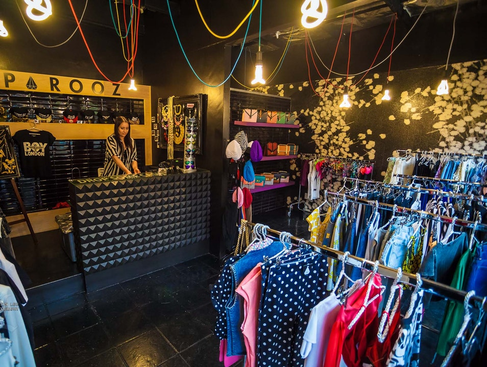 Buy Something Stylish While Exploring One of the Trendiest Areas