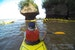 Kayak in the Bay of Fundy at High Tide Hopewell Cape  Canada