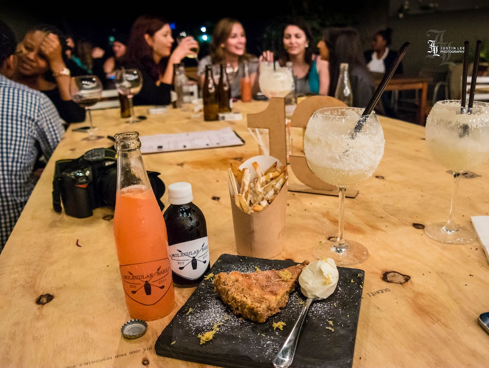 Mouth Watering Pie and Molecular Cocktails in the Backyard Johannesburg  South Africa