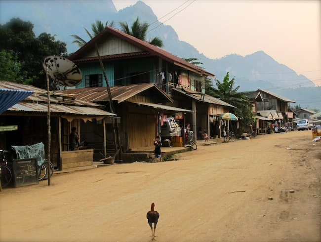 Nong Khiaw - A Sleepy Village