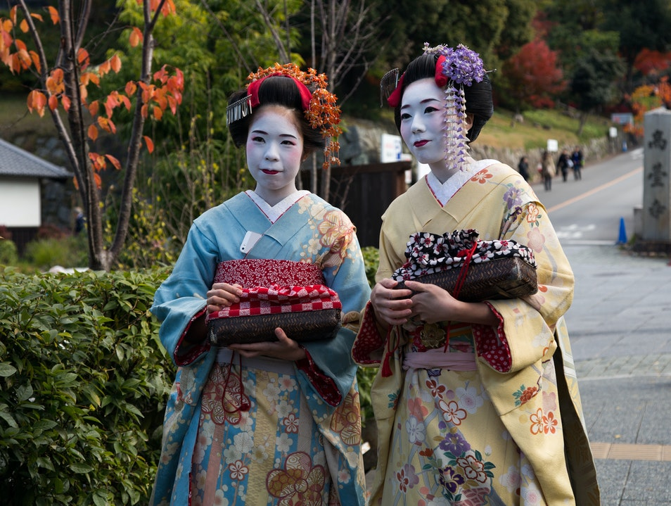 The beautiful geisha of Kyoto Kyoto  Japan