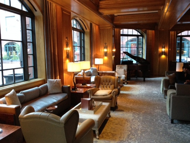 "The ""Lap"" of Luxury Stay at the St. Regis"