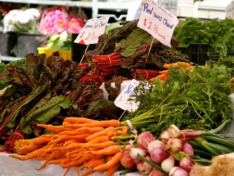 Shop for Fall Produce at the Farmers' Market Jersey City New Jersey United States