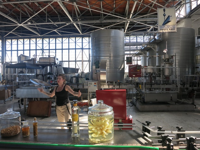 Entertaining Explanations and Libations at Alameda Distillery