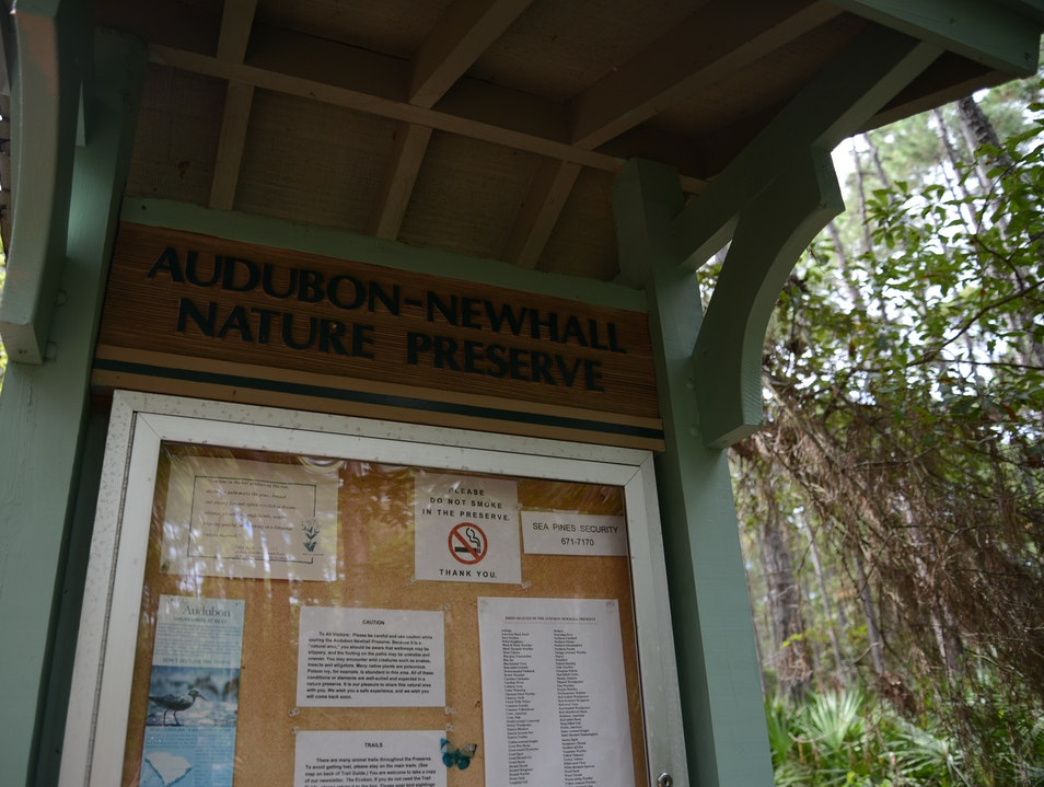 H.H.I.'s Audubon-approved Walking Trail