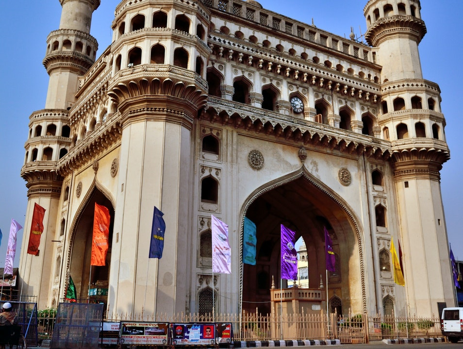 The Charm of Charminar Hyderabad  India