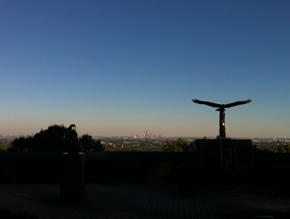 Stunning View of NYC from First Mountain in Montclair West Orange New Jersey United States