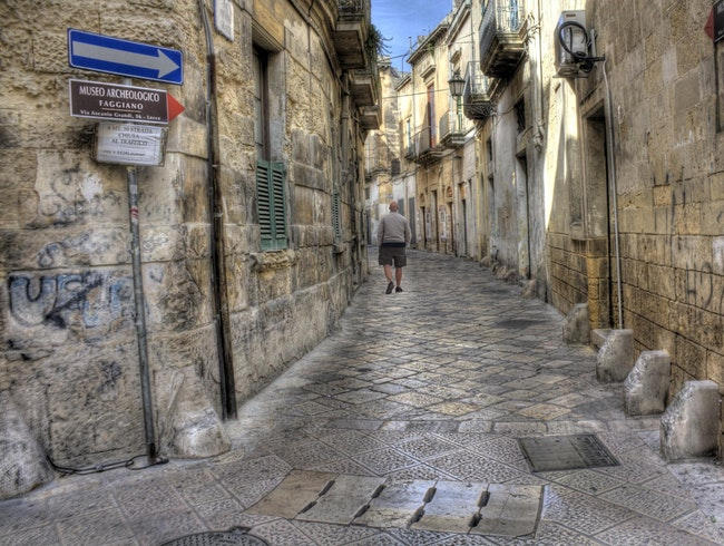 See Lecce's History in a Private Museum
