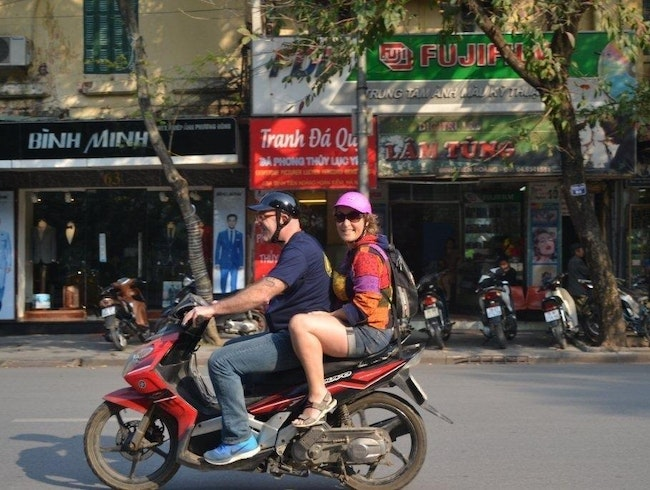 Hanoi, the old center