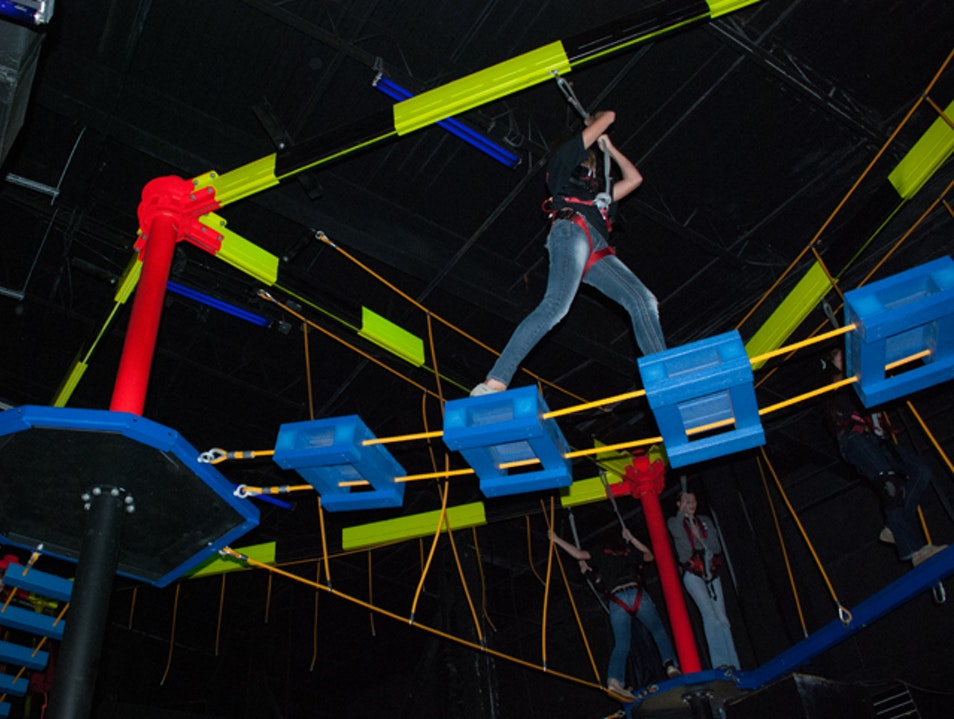 Obstacle Course in the Air Orlando Florida United States