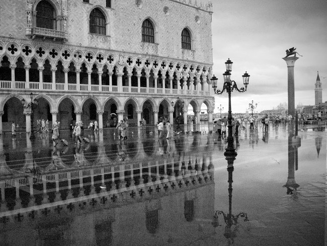 The Doge's Palace Under Water