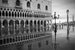 The Doge's Palace Under Water Venice  Italy