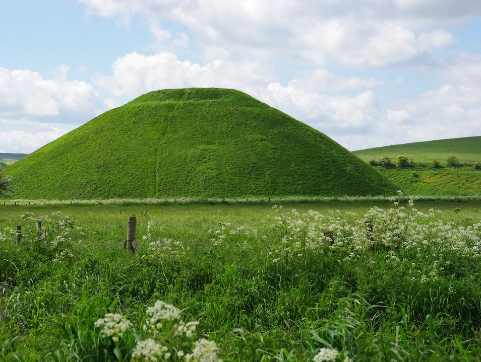 Ancient Stones and Mysterious Mounds at Avebury Avebury  United Kingdom