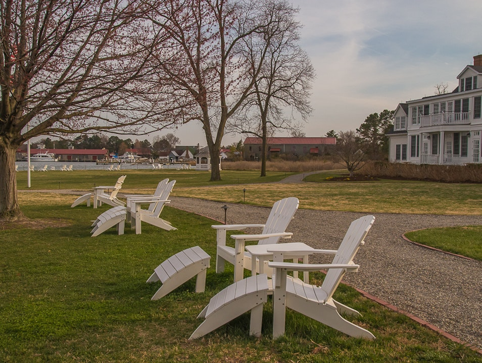 Relaxed Luxury on the Chesapeake Bay