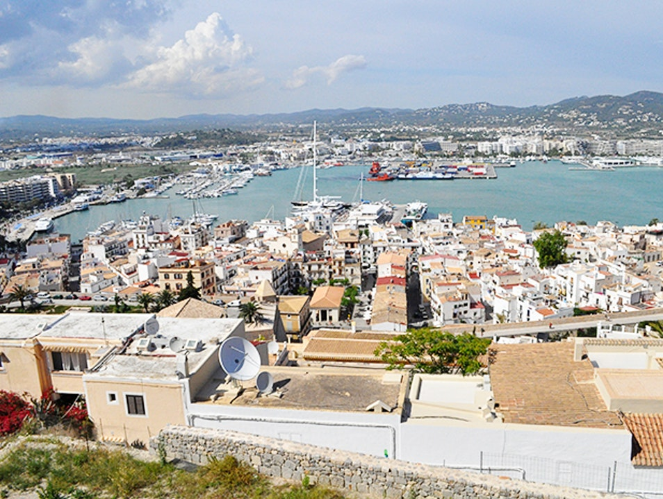 Whichever Way You Look, The Views From Dalt Vila Are Well Worth The Climb Puig d'en Valls  Spain