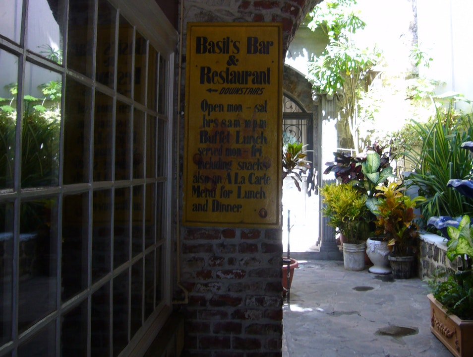 Basil's Bar, Kingstown Kingstown  Saint Vincent and the Grenadines