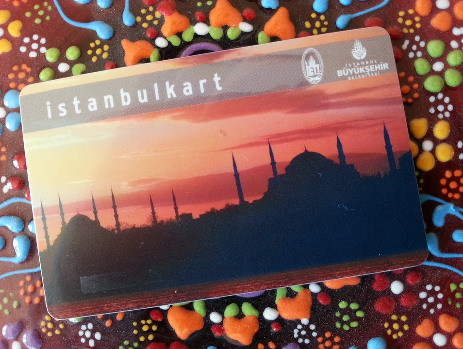 Discounted Transit Fares with Istanbulkart Istanbul  Turkey