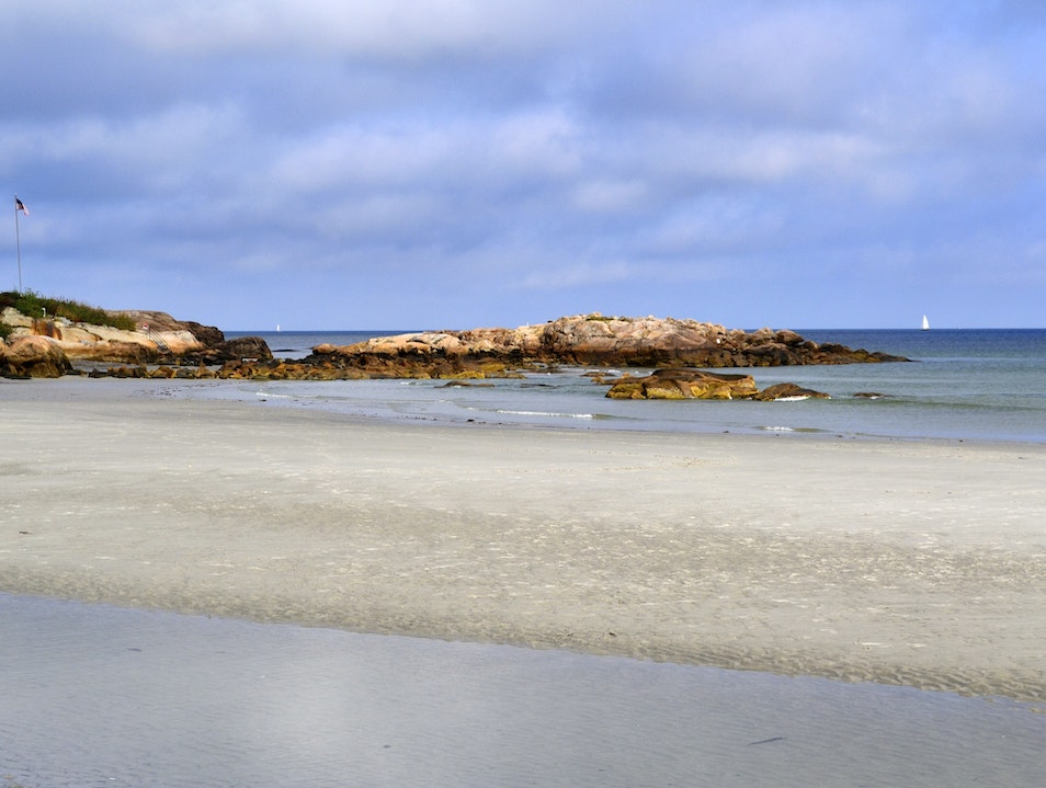 Wingaersheek Beach in Gloucester Gloucester Massachusetts United States