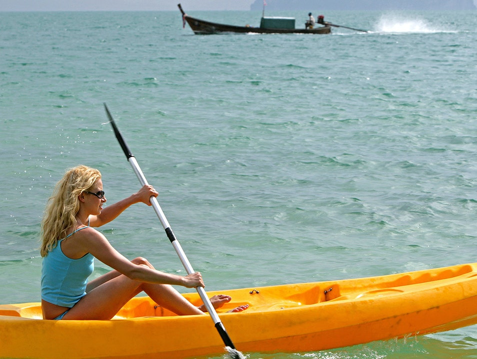 Sail or Kayak at Otres Beach Krong Preah Sihanouk  Cambodia