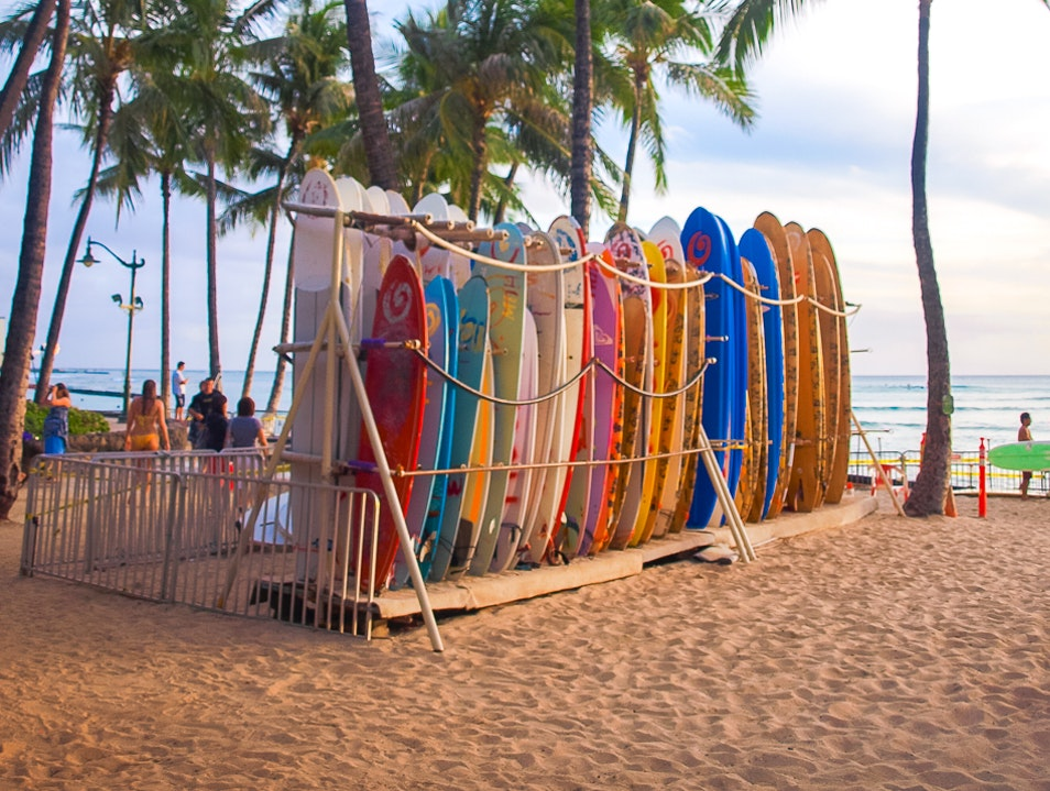 Learning to Surf and Paddleboard Honolulu Hawaii United States