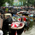 August Canal Festival (Grachtenfestival) Amsterdam  The Netherlands