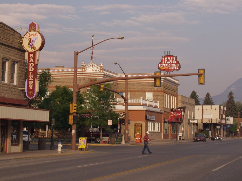 Cody, Wyoming, near Yellowstone, brims with attractions like the Whitney Western Art Museum, the Plains Indian Museum, and the Cody Nite Rodeo.