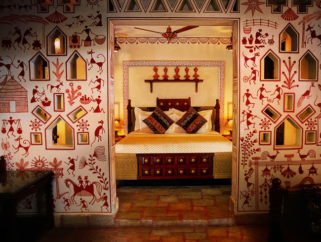 A Hotel With A Scene in Jaipur: Pearl Palace Heritage