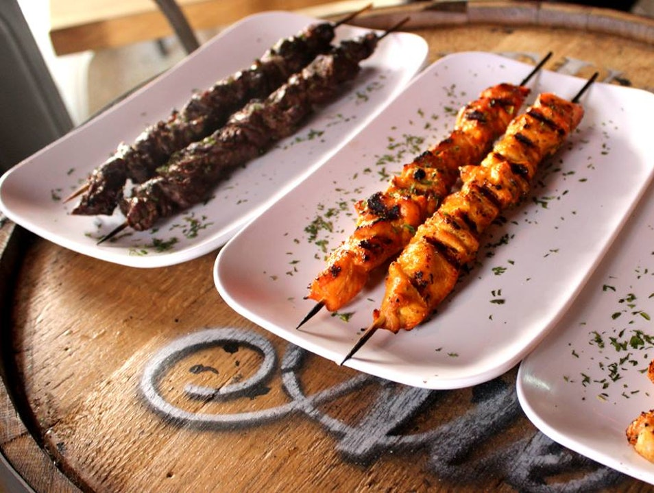 Pincho Factory: Kabobs, Tasty Burgers and Zingy Cajun Fries  Coral Gables Florida United States