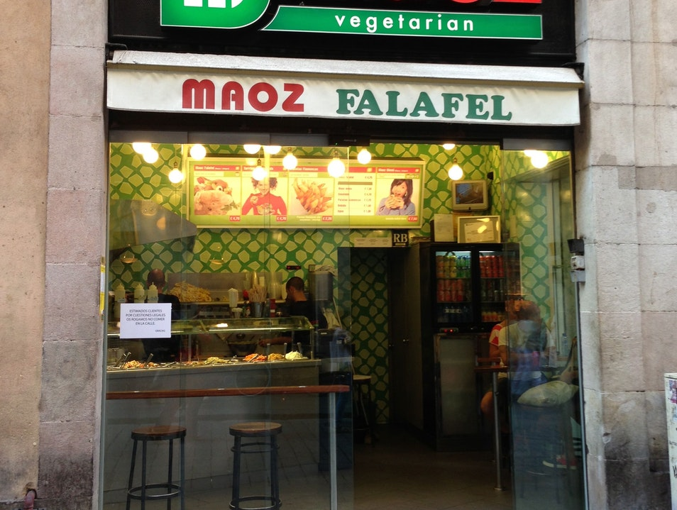 Falafel on the go Barcelona  Spain