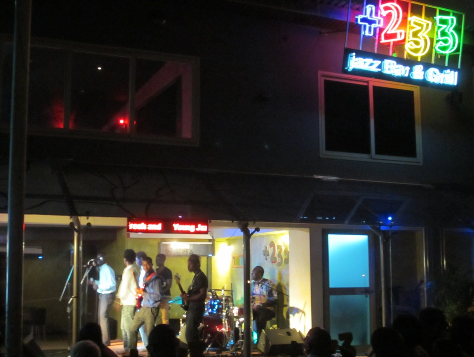 Jazz night out in Accra Accra  Ghana