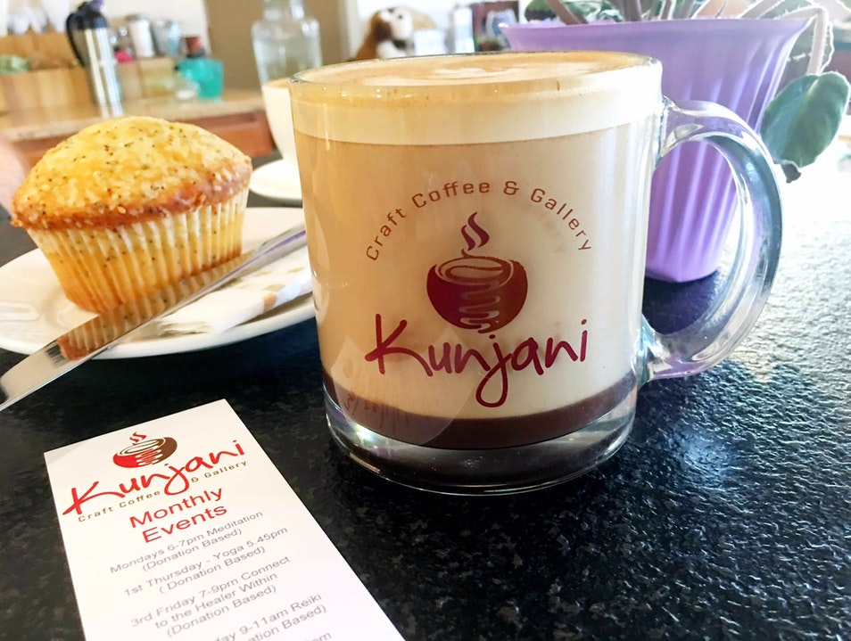 Kunjani: Great Coffee and A Comfy Place to Relax Naples Florida United States