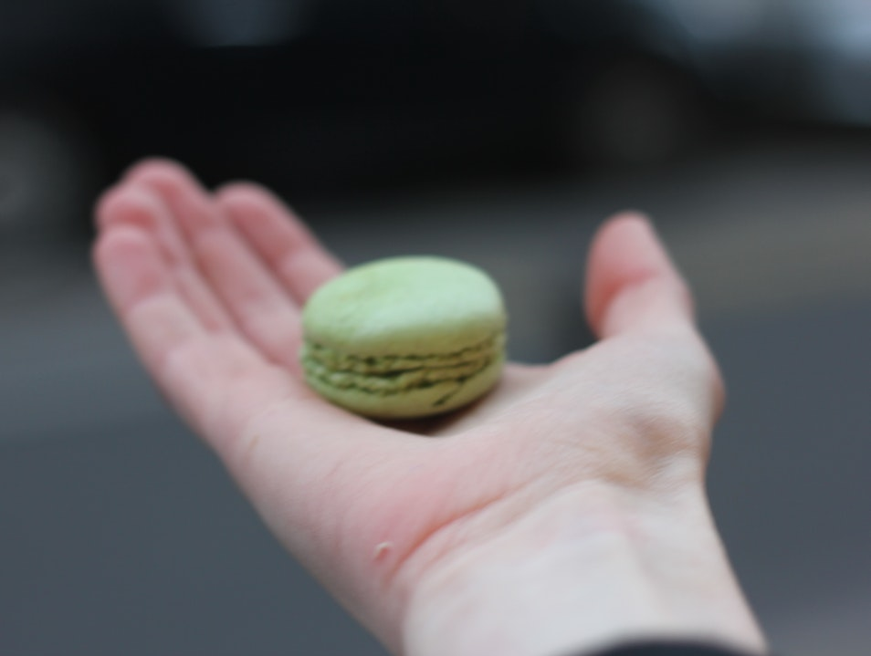 My first macaron in Paris   France