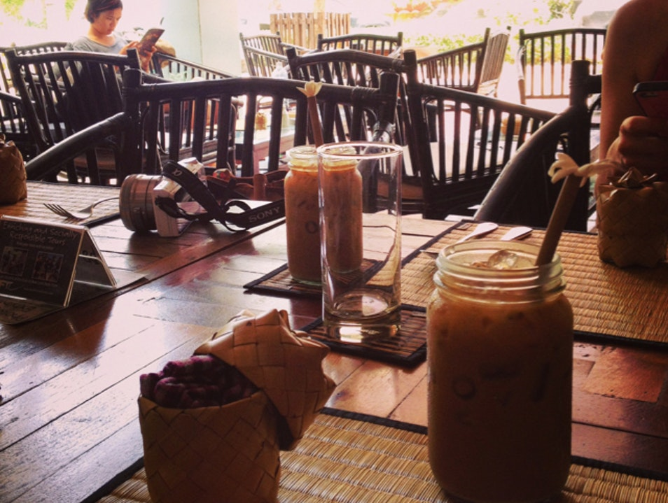 Read and Relax at New Leaf Cafe Siem Reap  Cambodia