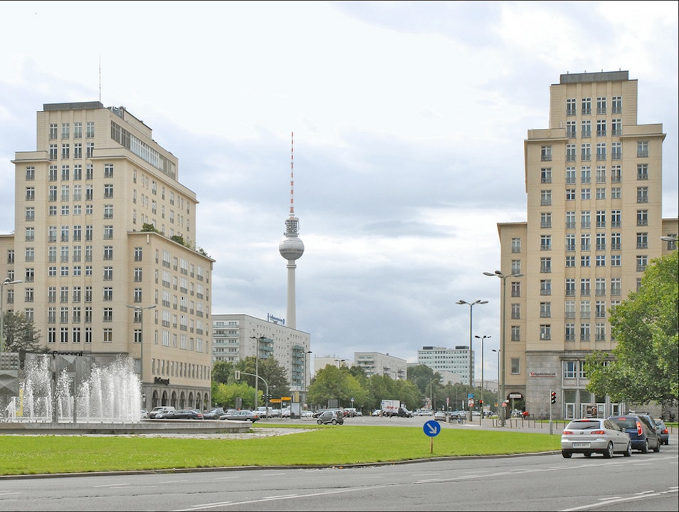 On the Karl-Marx-Allee Berlin  Germany