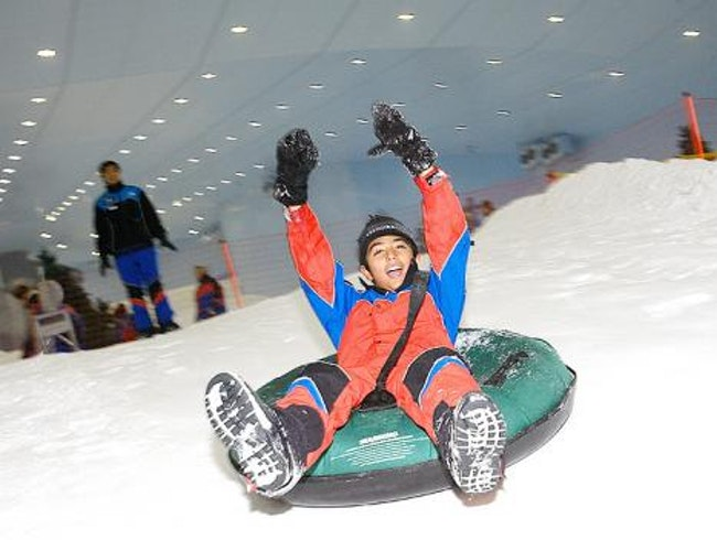 Hit the Slopes in Dubai