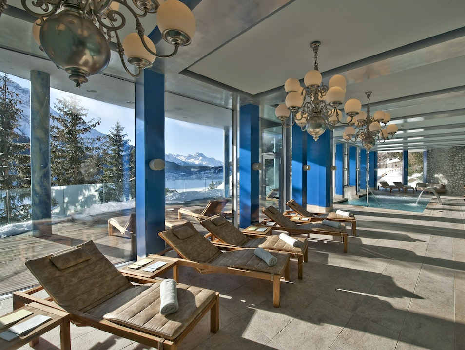 A retreat of rejuvenation at the Carlton St. Moritz St. Moritz  Switzerland