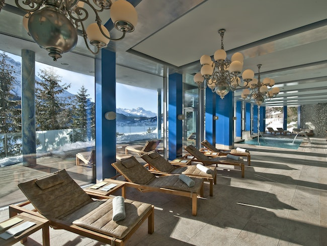 A retreat of rejuvenation at the Carlton St. Moritz