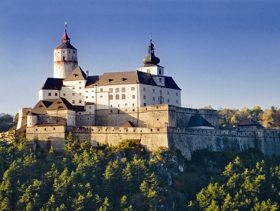 Explore the medieval Forchteinstein Castle Forchtenstein  Austria