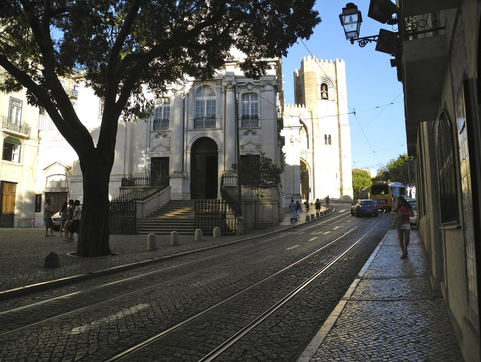 The Church of St. Anthony and the Lisbon Se Lisbon  Portugal