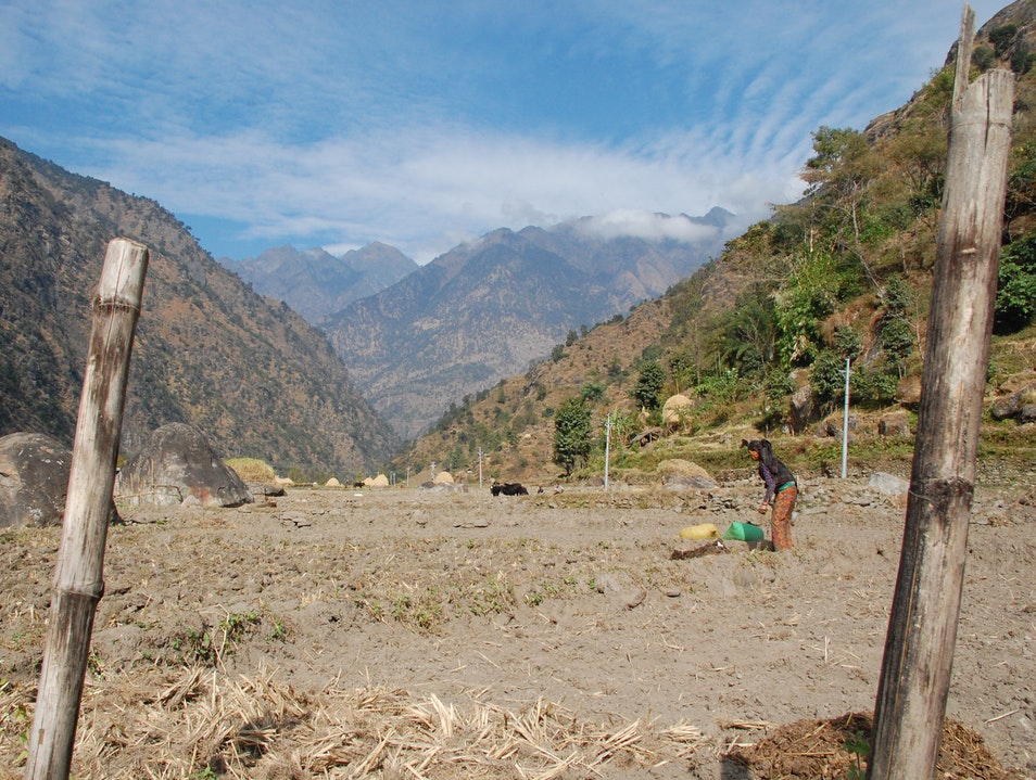 Finding a happy solitude while trekking the Annapurna Circuit