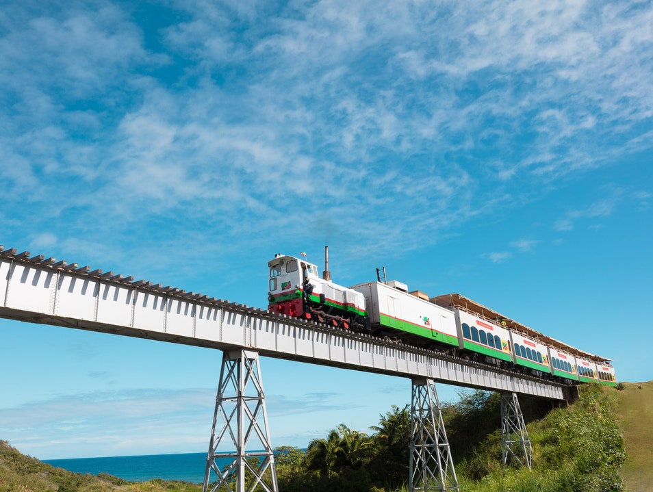 St. Kitts Scenic Railway  Conaree Village  Saint Kitts and Nevis